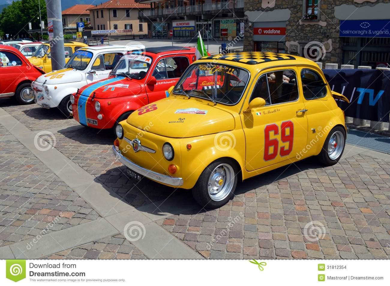 Fiat 500 Abarth Editorial Stock Image Image Of Fast 31812354