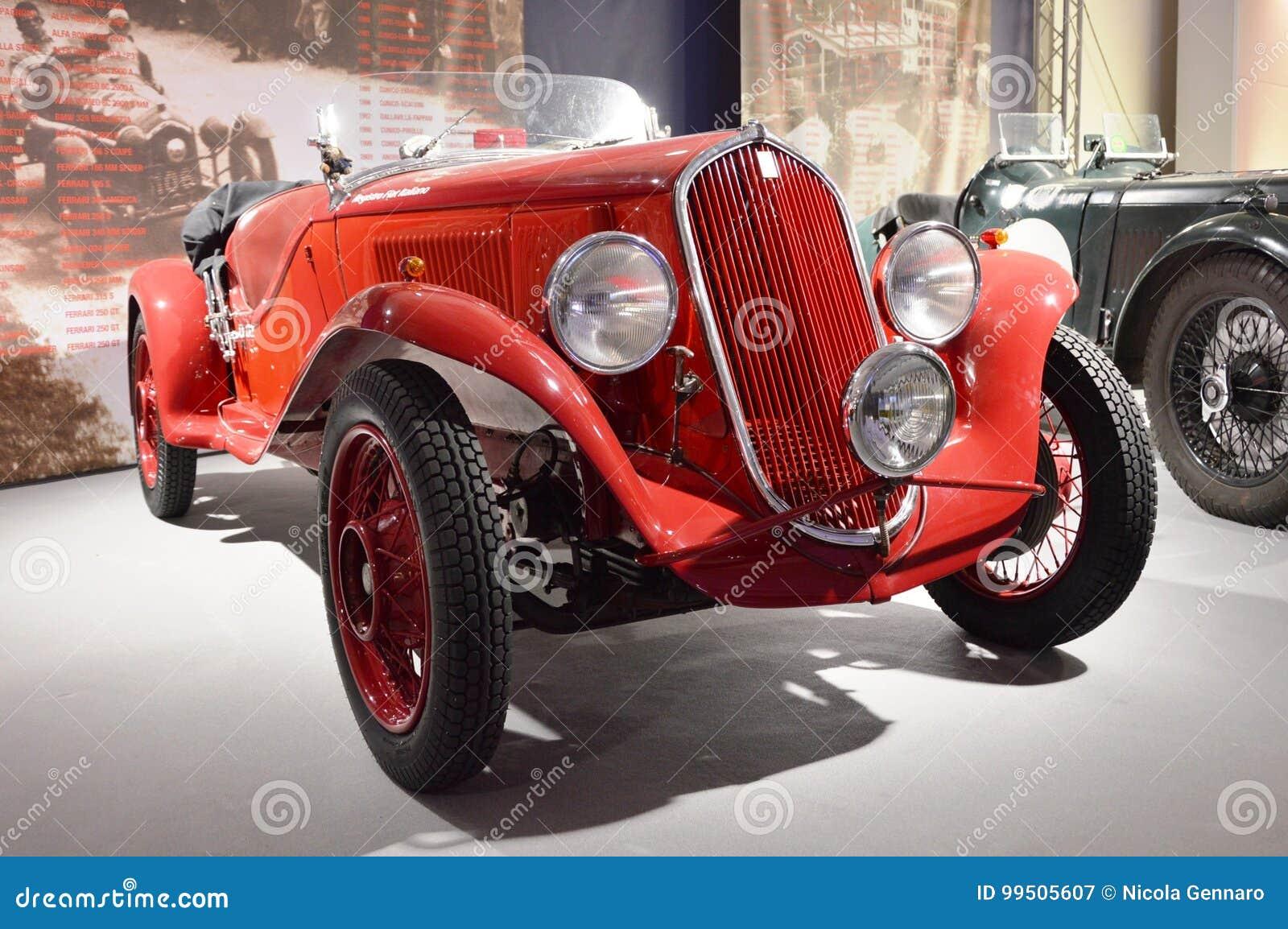 half off 9ac79 aa58b FIAT 508 Balilla Sport, Year 1933 Editorial Photography ...