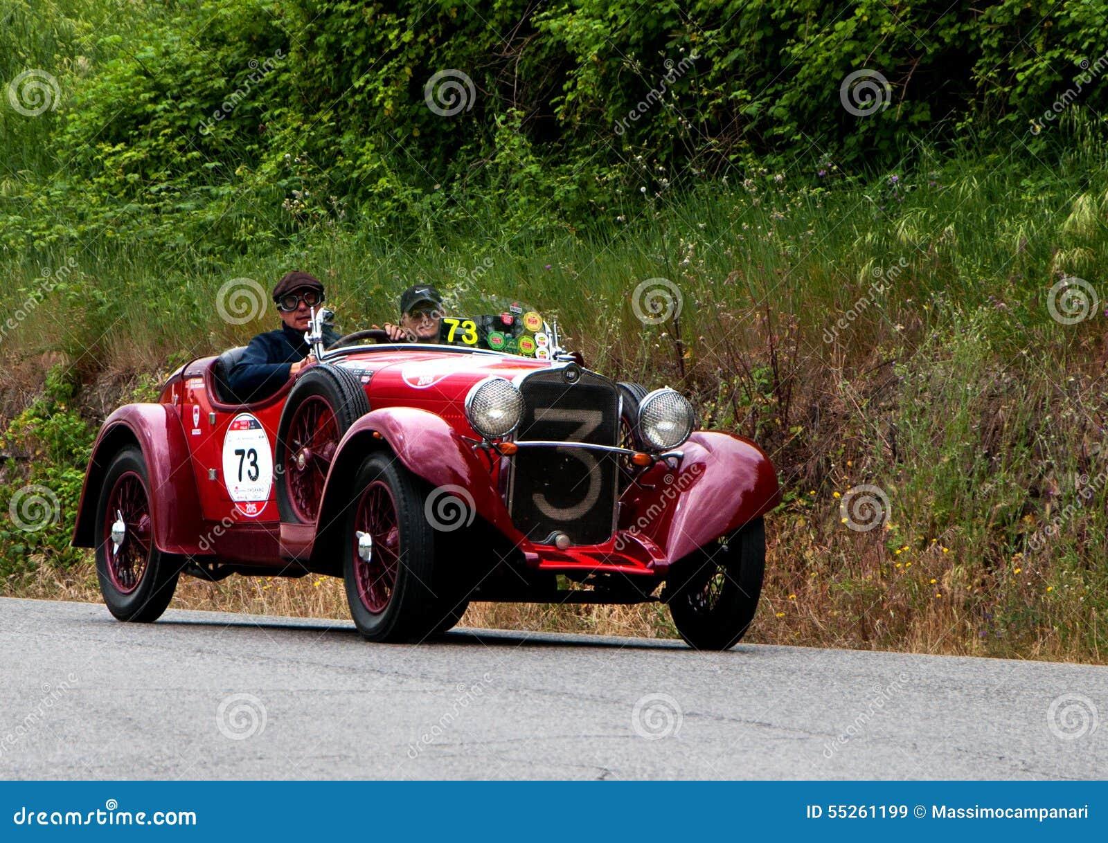 FIAT 514 CA Spider Sport 1931 Editorial Stock Image