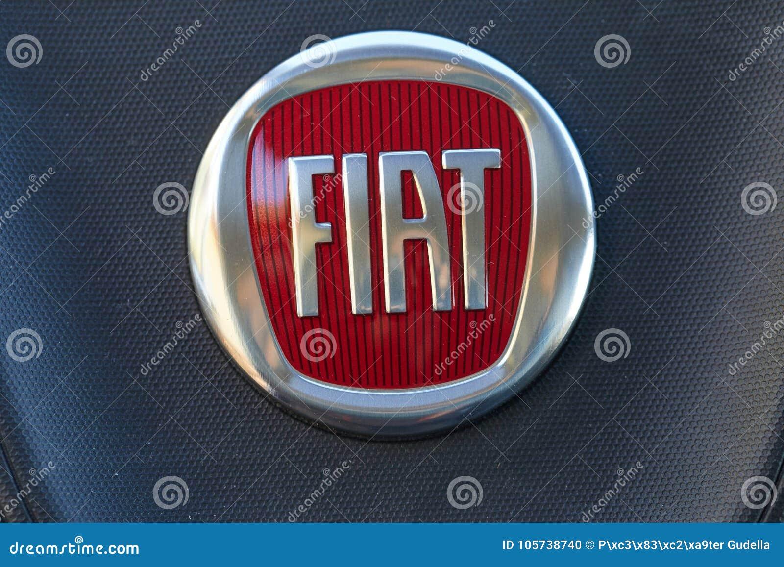 Fiat Car Logo Editorial Image Image Of Manufacturer 105738740