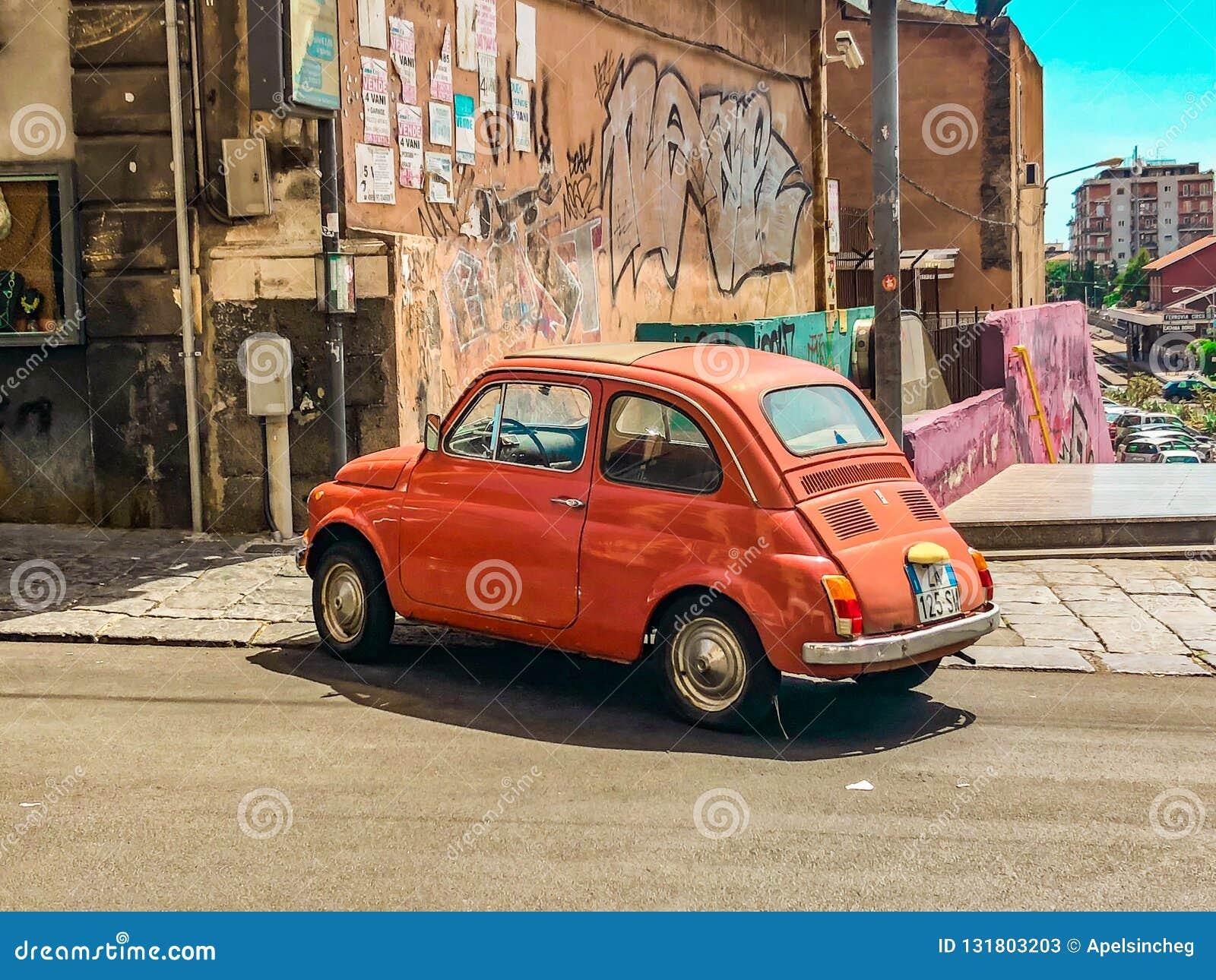 Fiat 500 L corail de fard à joues