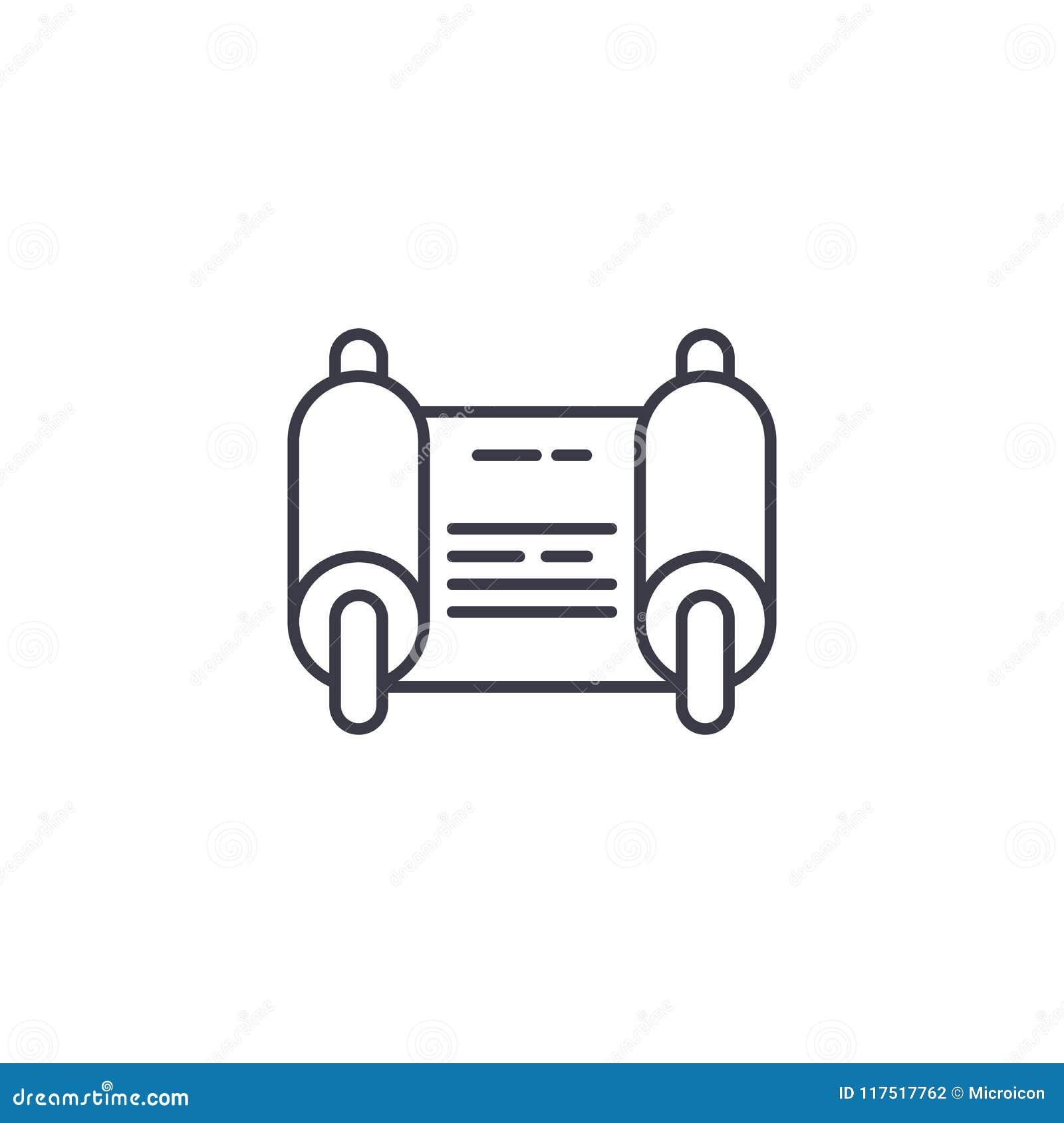 Fiat Linear Icon Concept Fiat Line Vector Sign Symbol