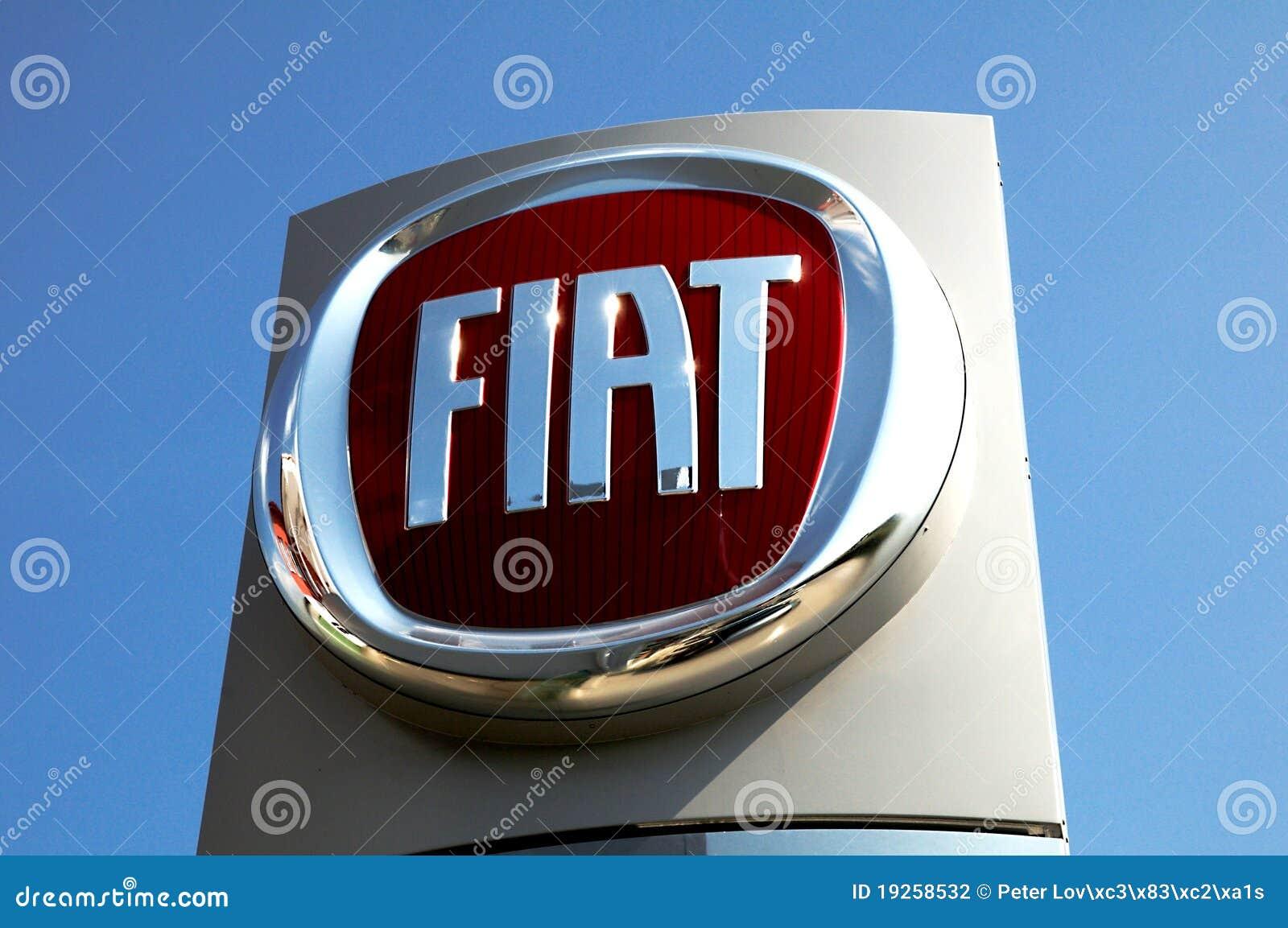Fiat Logo Editorial Photography Image Of Company Italy 19258532