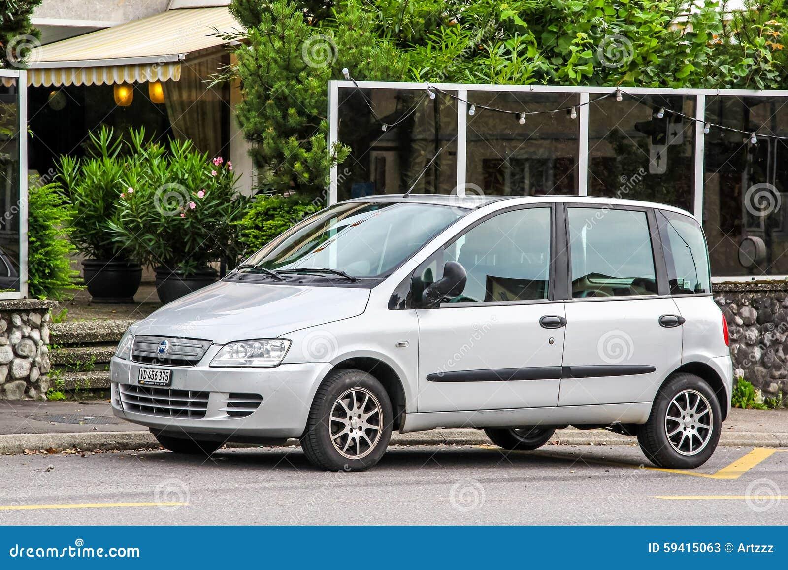 Fiat Multipla Editorial Stock Photo Image 59415063