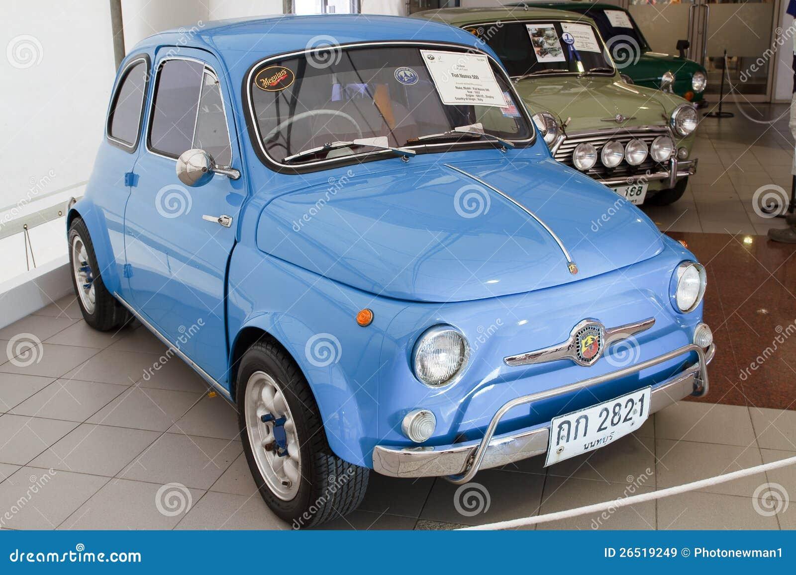 Fiat Nuova 500, carros do vintage