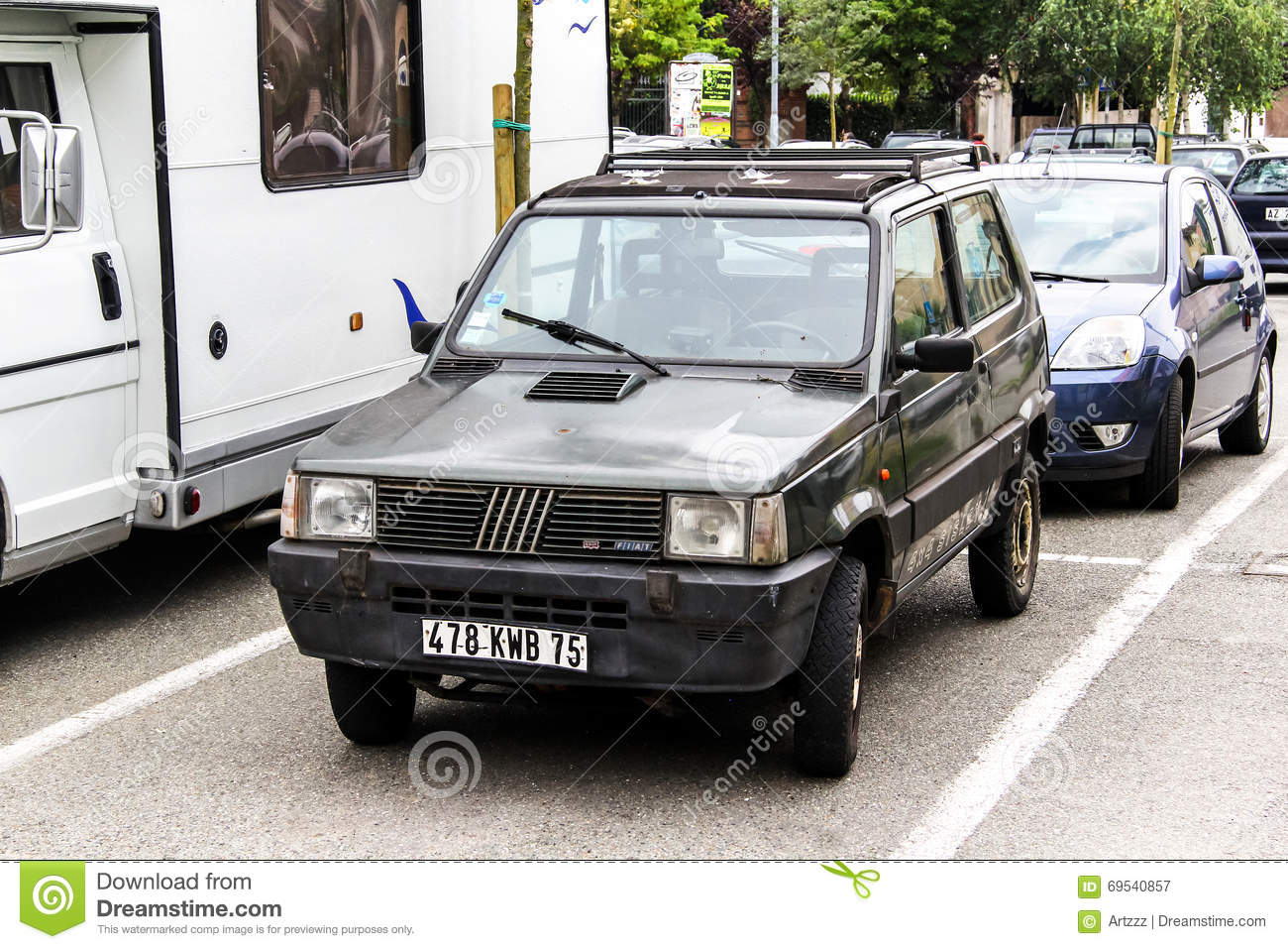 Fiat panda stock photography 72467078 Motor city car sales