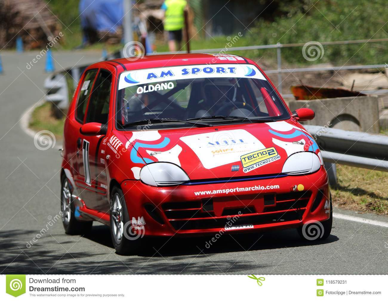 Fiat 600 Race Car Editorial Photo Image Of Race Competition