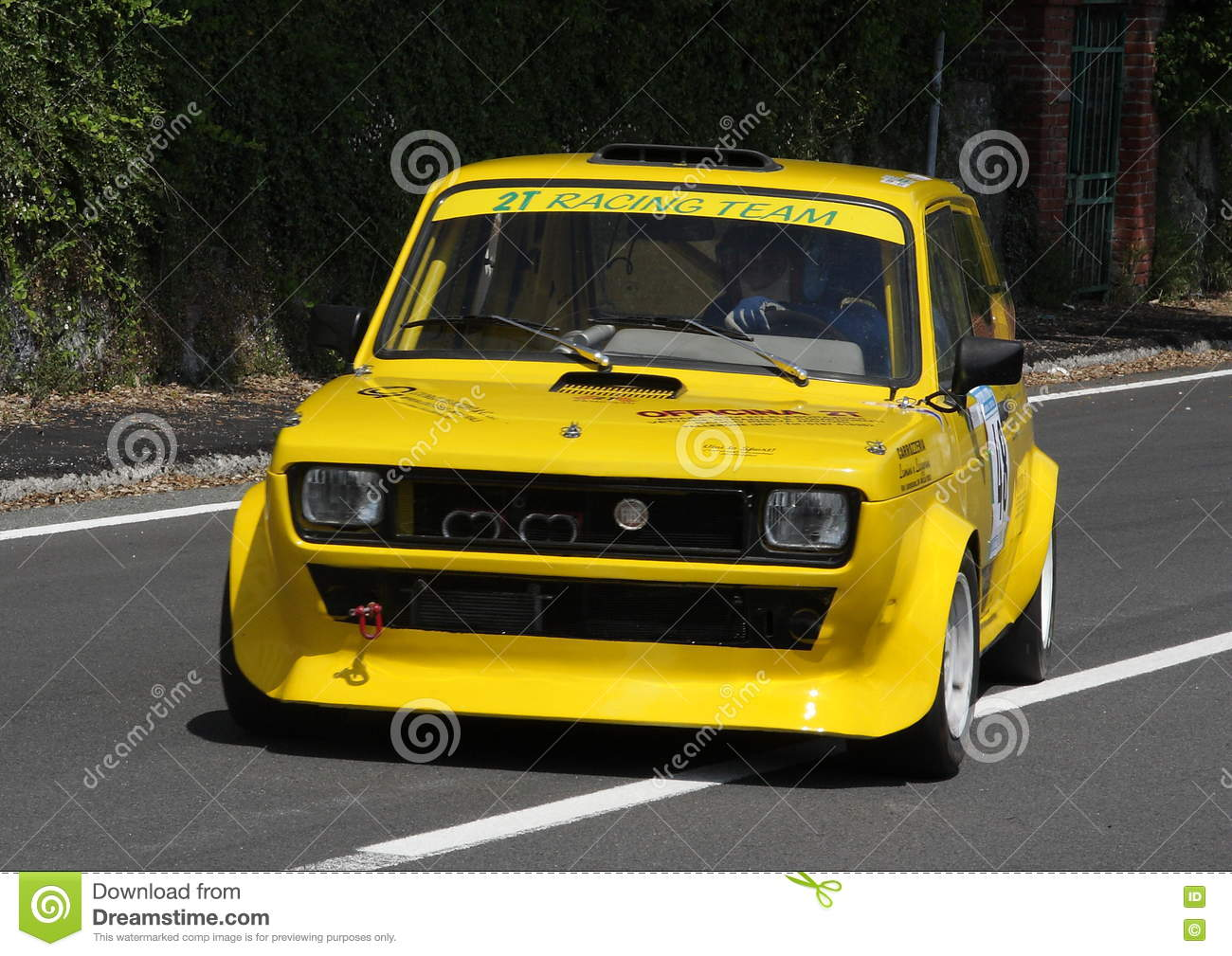 Fiat fiat 127 : Fiat 127 rally car editorial stock image. Image of edition - 73033224