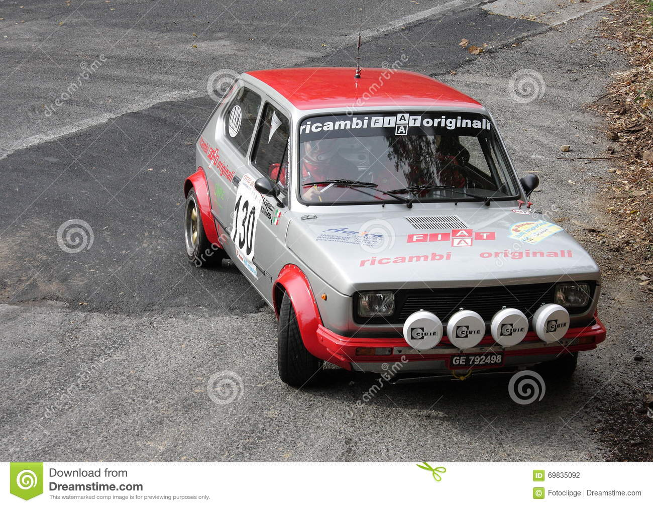 Fiat fiat 127 : Fiat 127 rally car editorial photography. Image of special - 69835092
