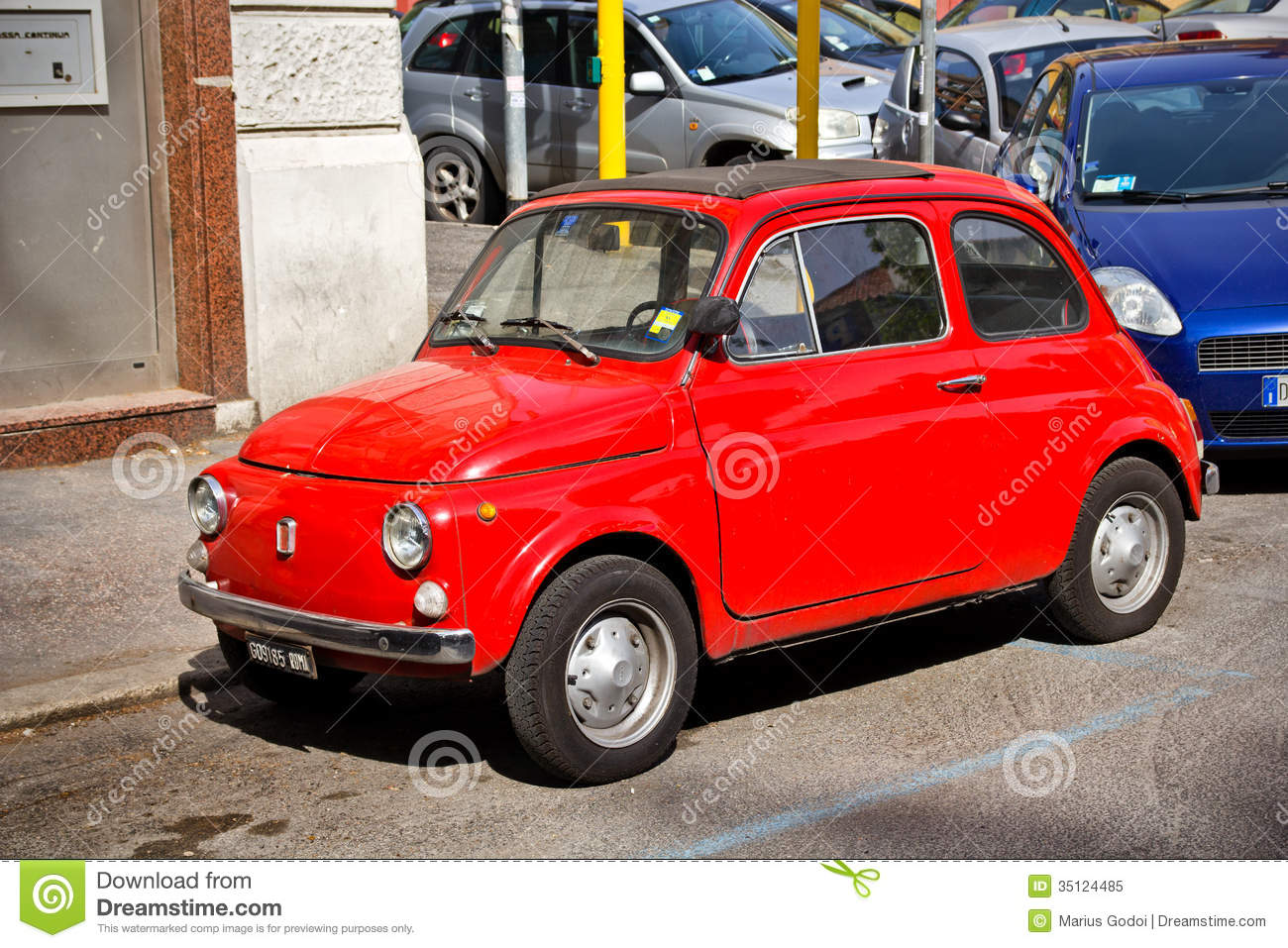 fiat 500 editorial image image of beautiful style auto. Black Bedroom Furniture Sets. Home Design Ideas