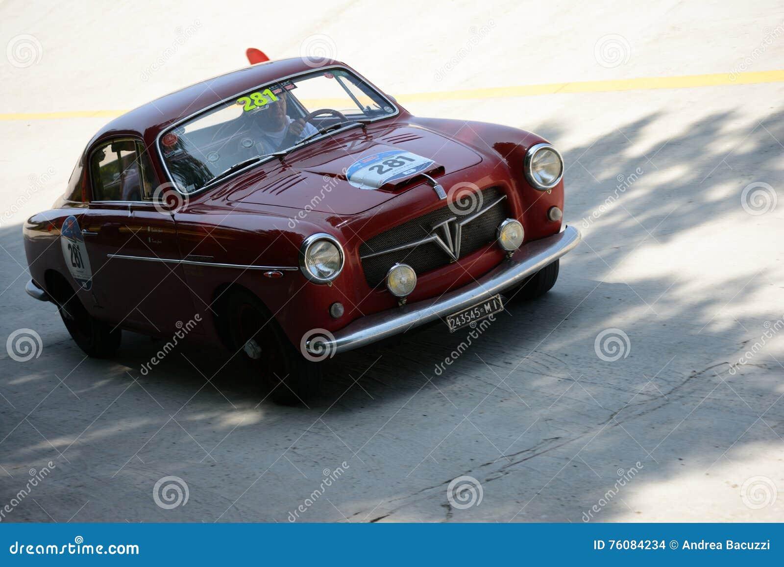 Fiat 1954 TV 1100 Pininfarina chez Mille Miglia