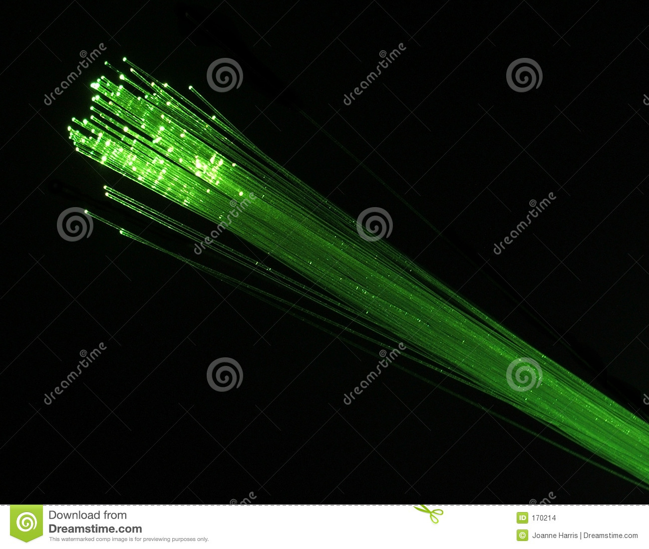 Fibre optics green