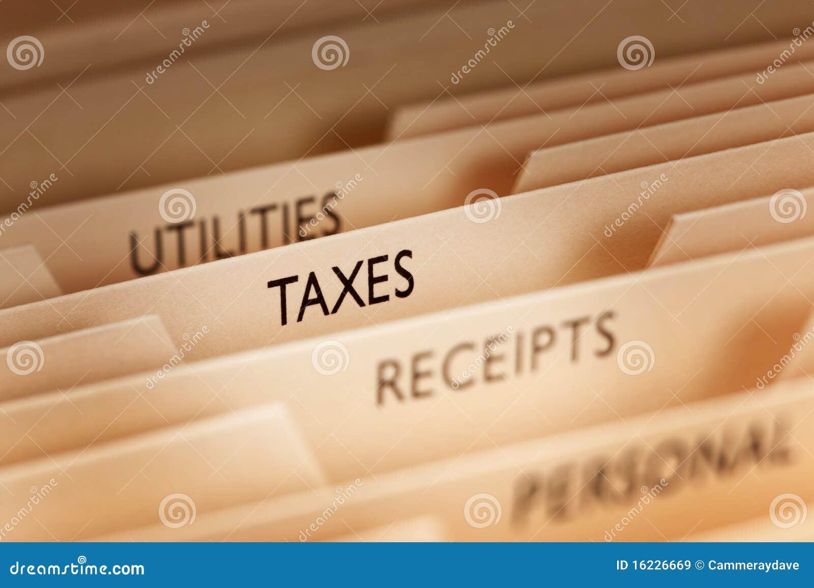 Ficheros de impuesto