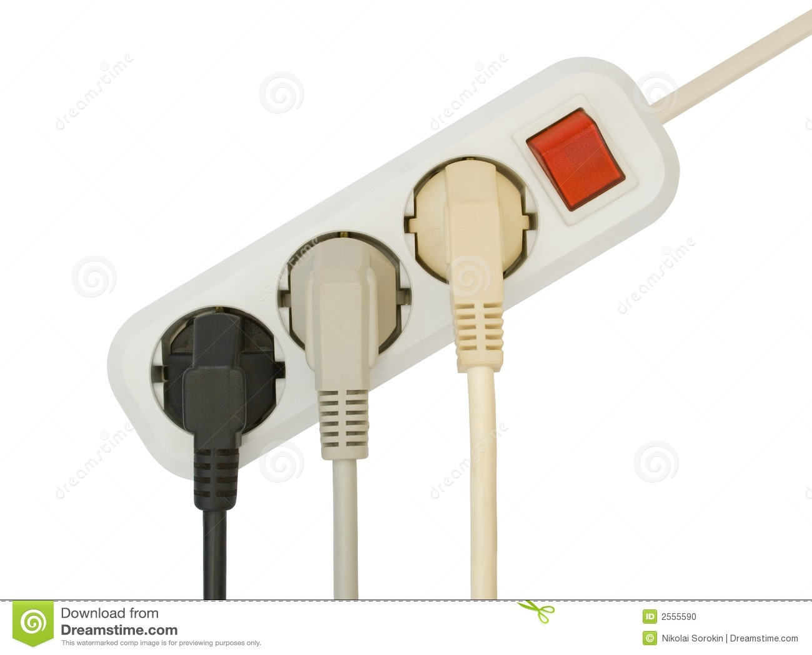 Fiches électriques connectées