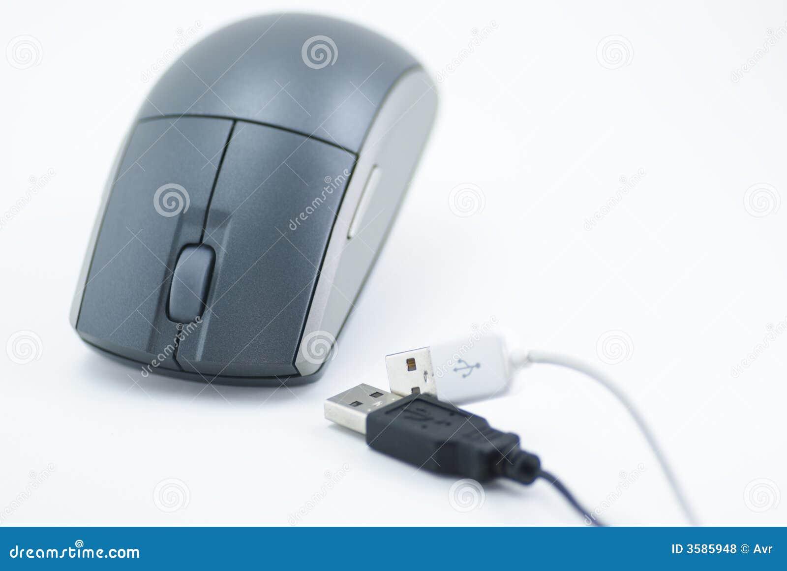 Fiches et souris d USB