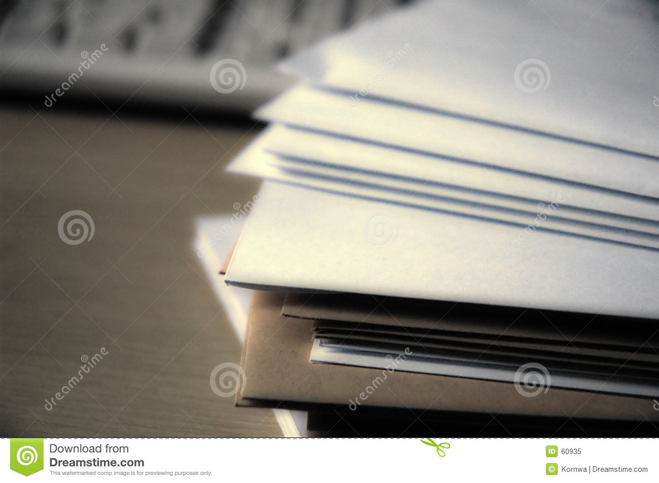 Download Fichiers image stock. Image du lettre, bureau, documents - 60935