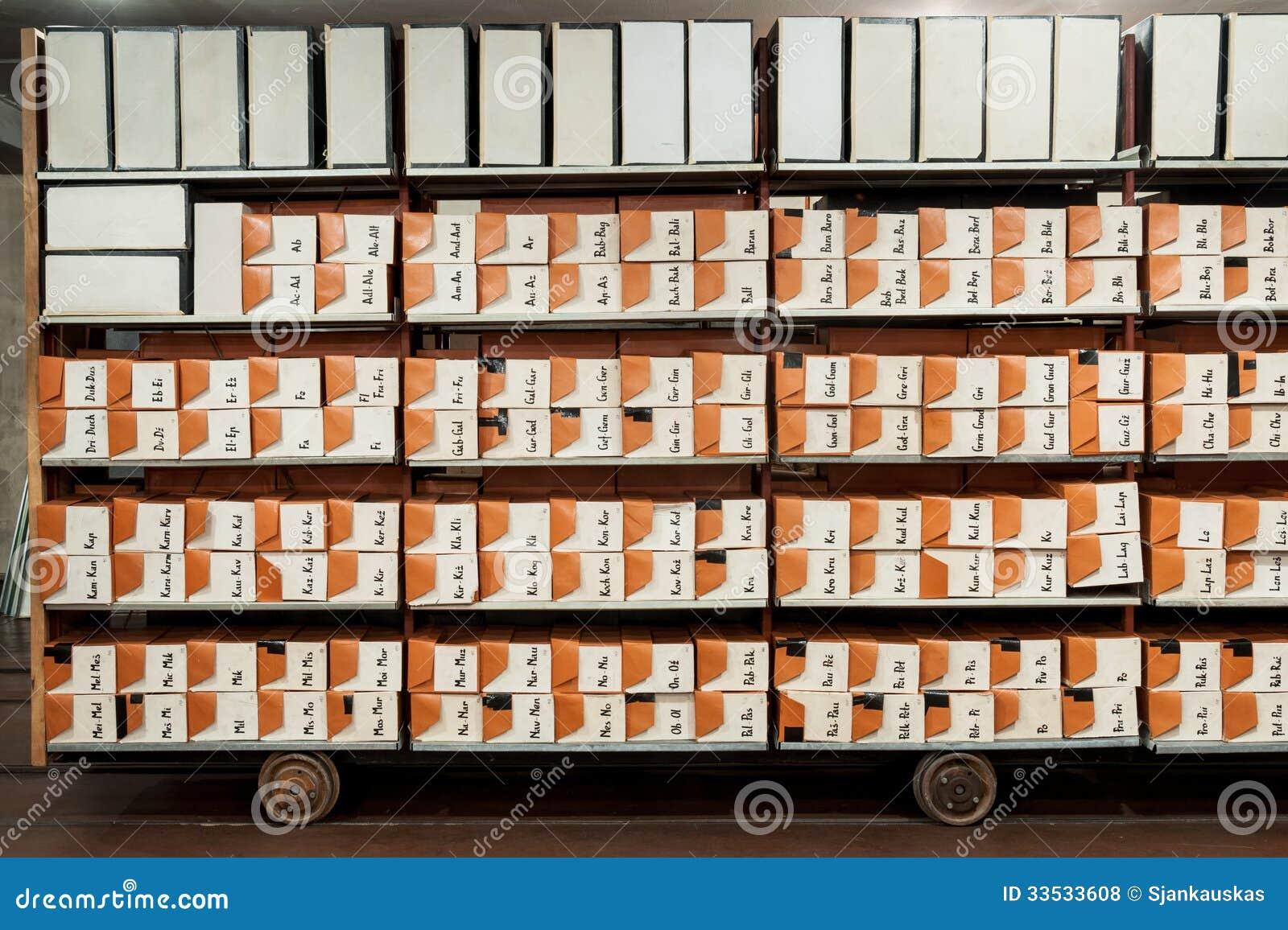 Fichiers d archives