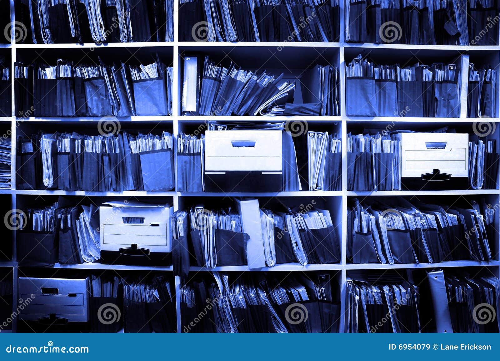 Fichiers sur l étagère