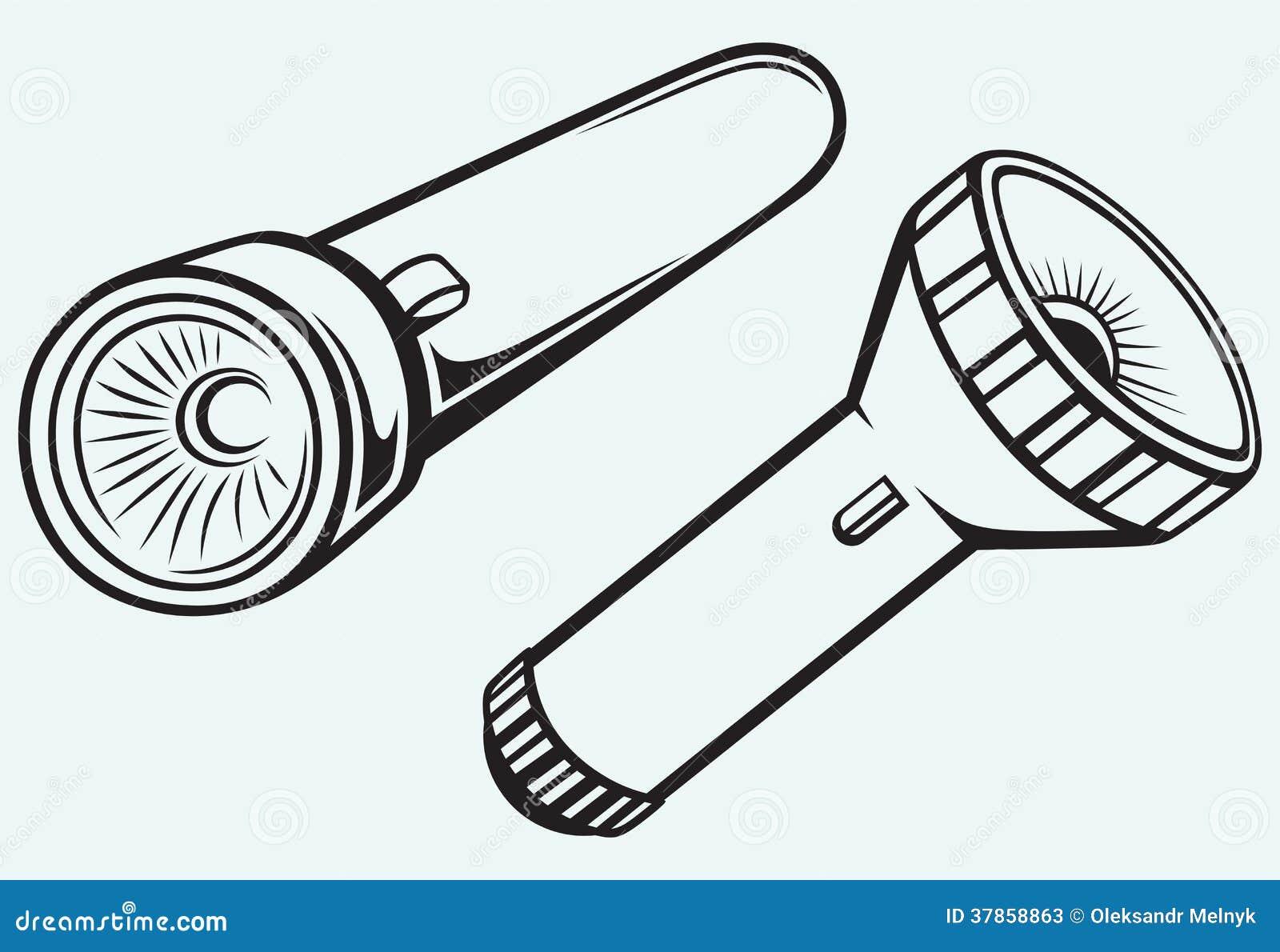 Fick- ficklampa för elkraft