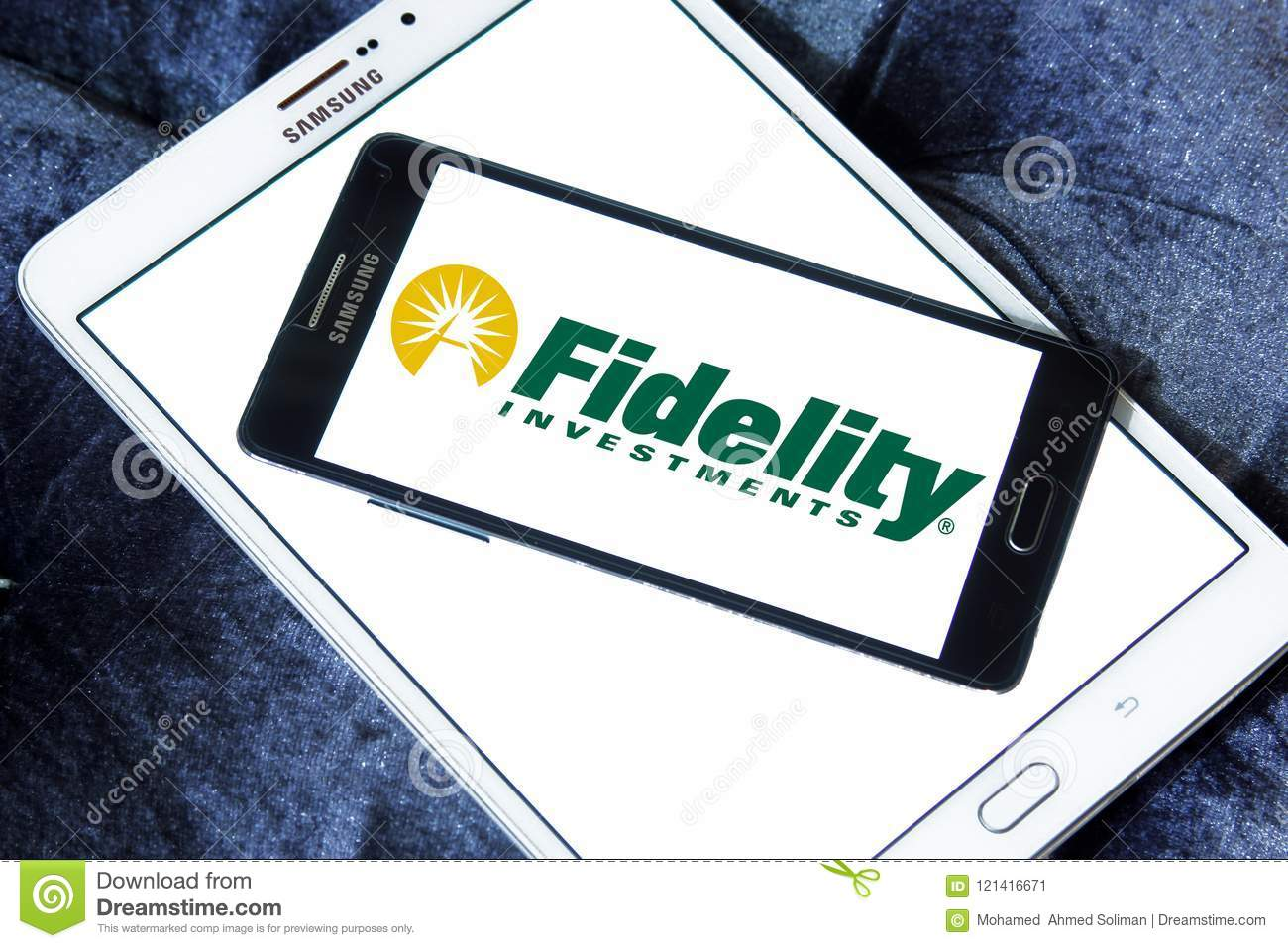 Fidelity Investments Company Logo Editorial Photo - Image of icons