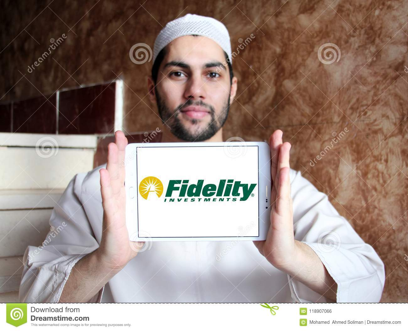 Fidelity Investments Company Logo Editorial Photo - Image of life