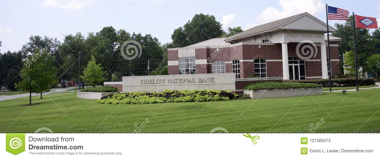 Bank Of The West Auto Loan >> Fidelity National Bank West Memphis Arkansas Editorial Stock Photo