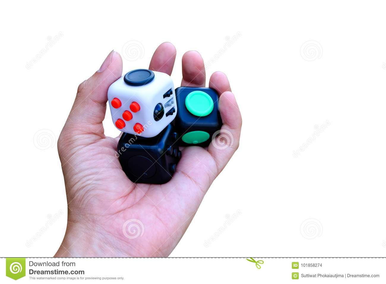 various styles the best new appearance Fidget cube stock photo. Image of cube, relax, clicker ...