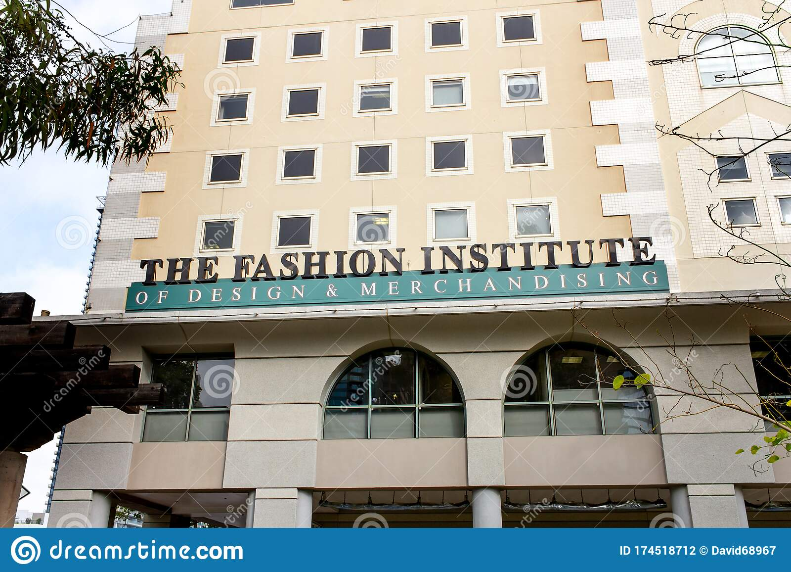 Fidm Building Editorial Photography Image Of Learn 174518712
