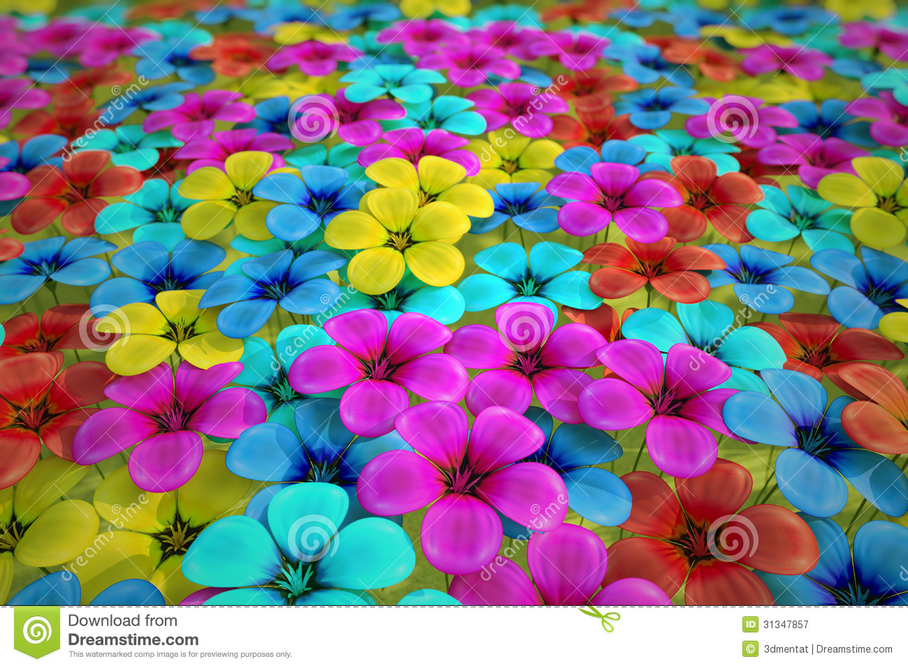 Field of flowers stock illustration illustration of macro 31347857 field of flowers izmirmasajfo Images