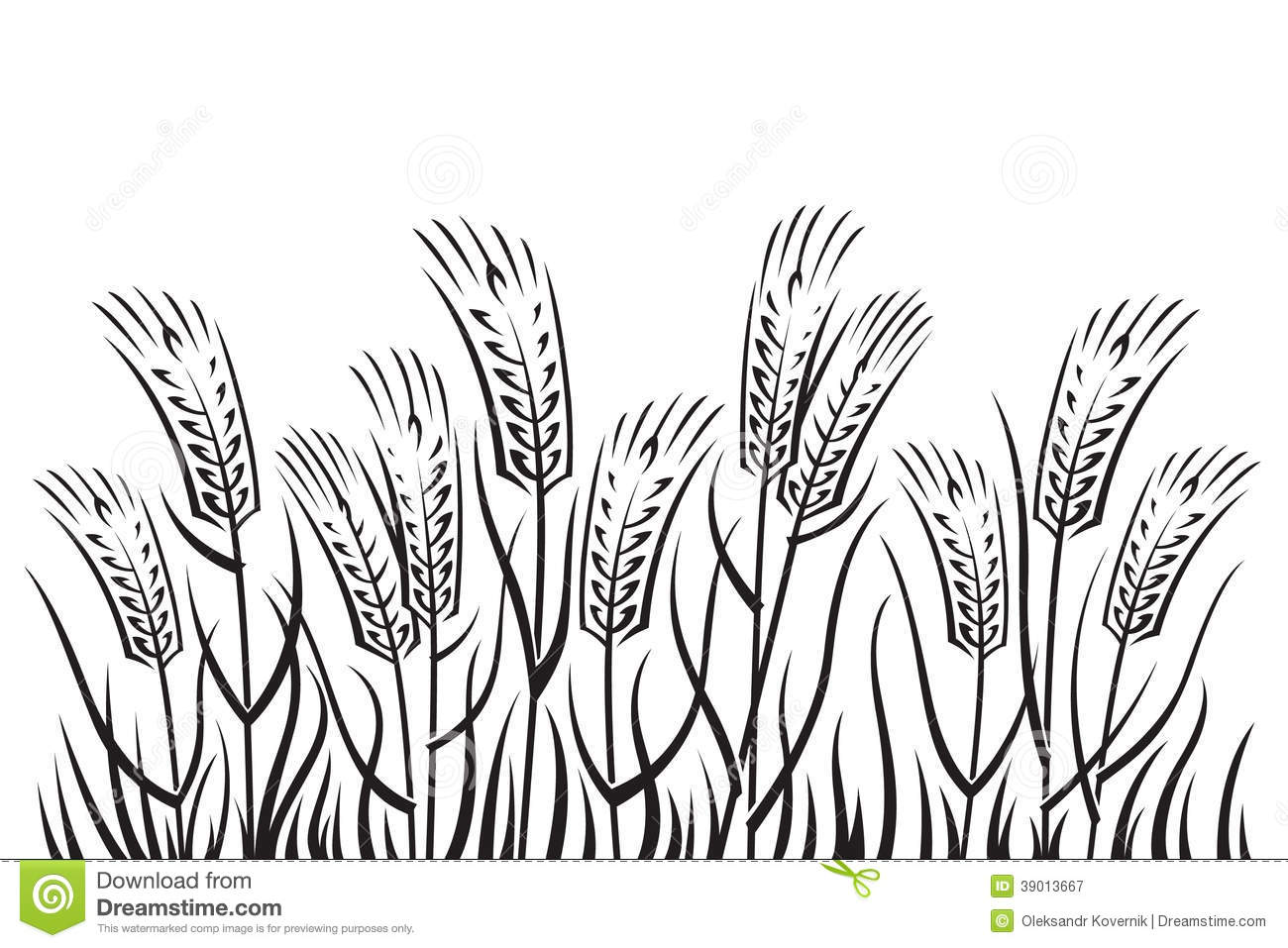 Wheat Sheaf Cliparts, Stock Vector And Royalty Free Wheat Sheaf  Illustrations