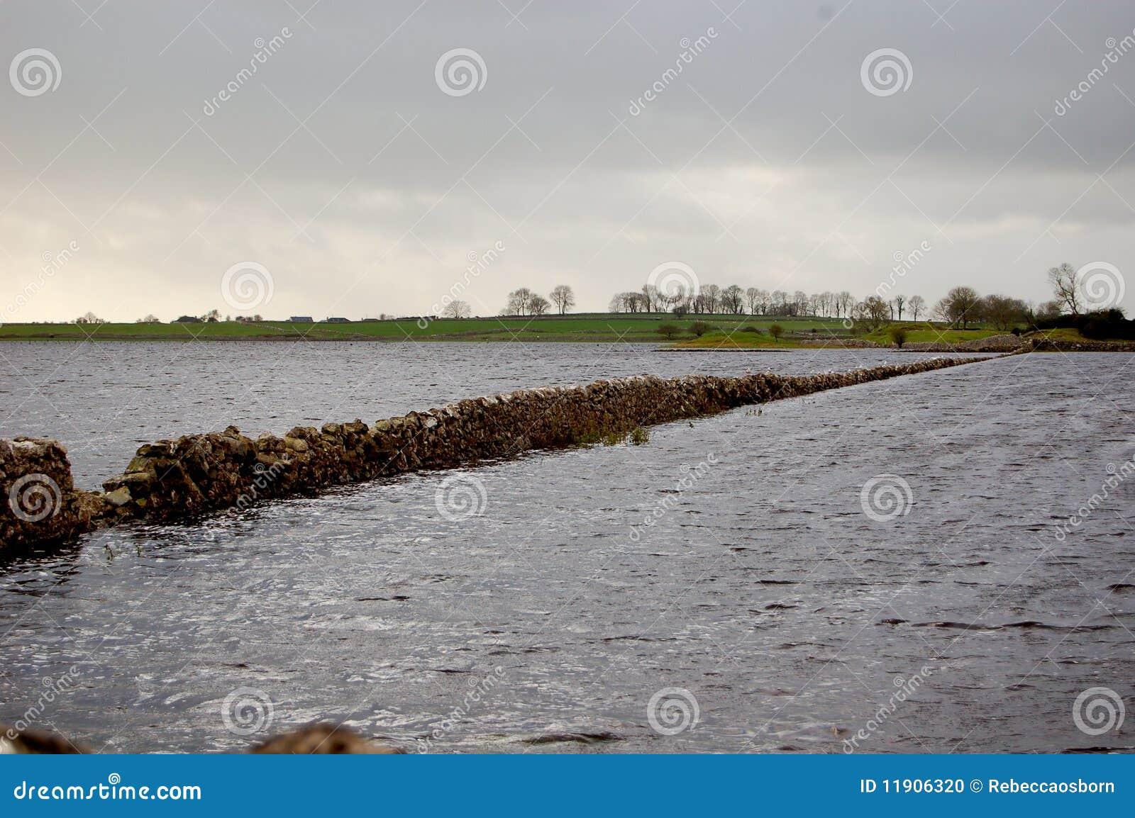 Fields Flooded
