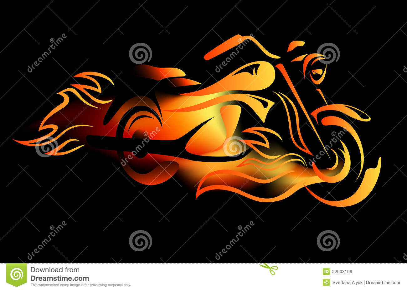 Fiery bike stock illustrations 72 fiery bike stock illustrations vectors clipart dreamstime