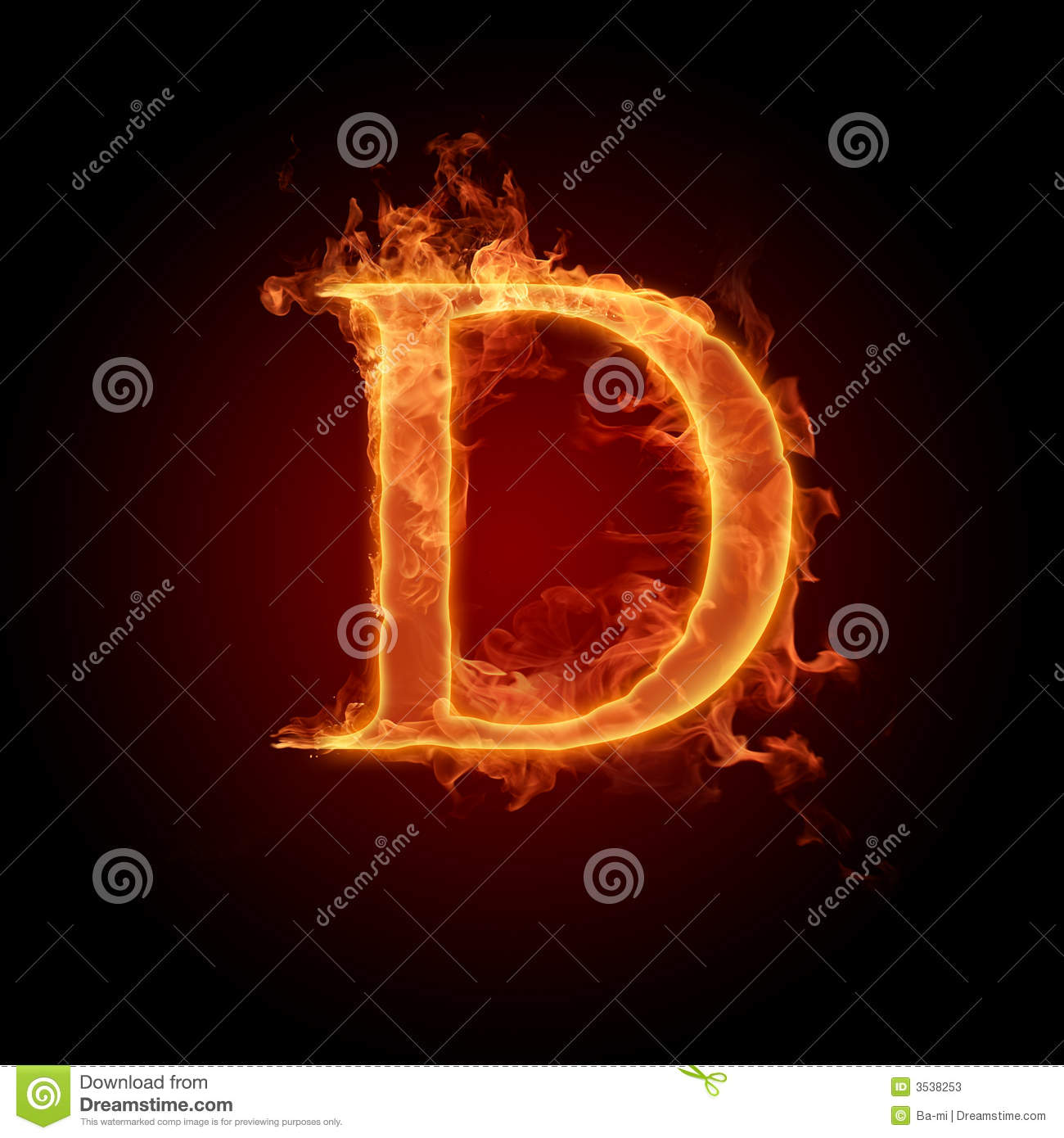 Fiery Font Stock Photos Image 3538253