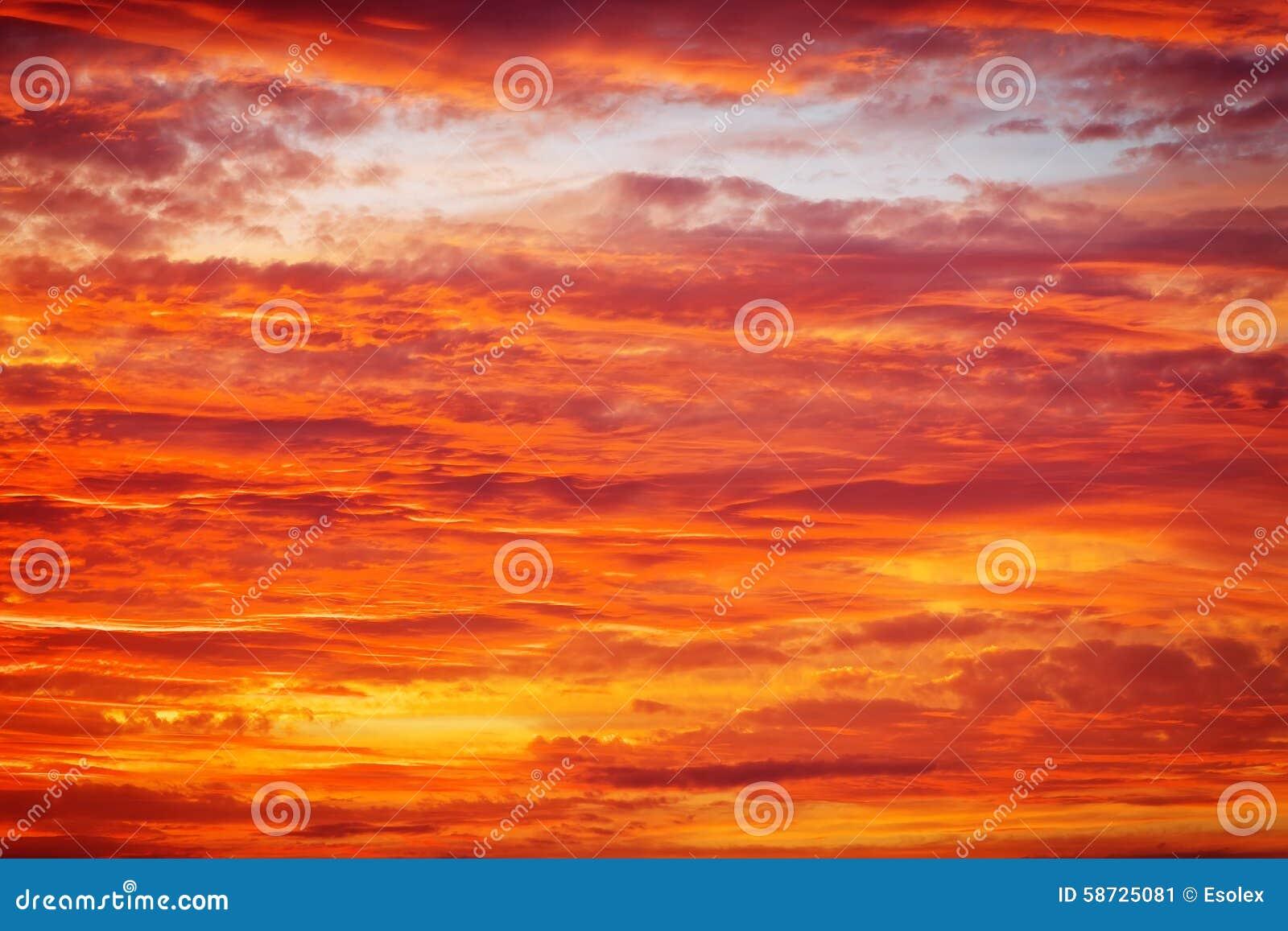 fiery glow burning sunset - photo #44