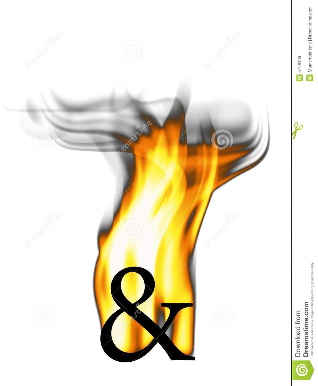 Fiery And Symbol