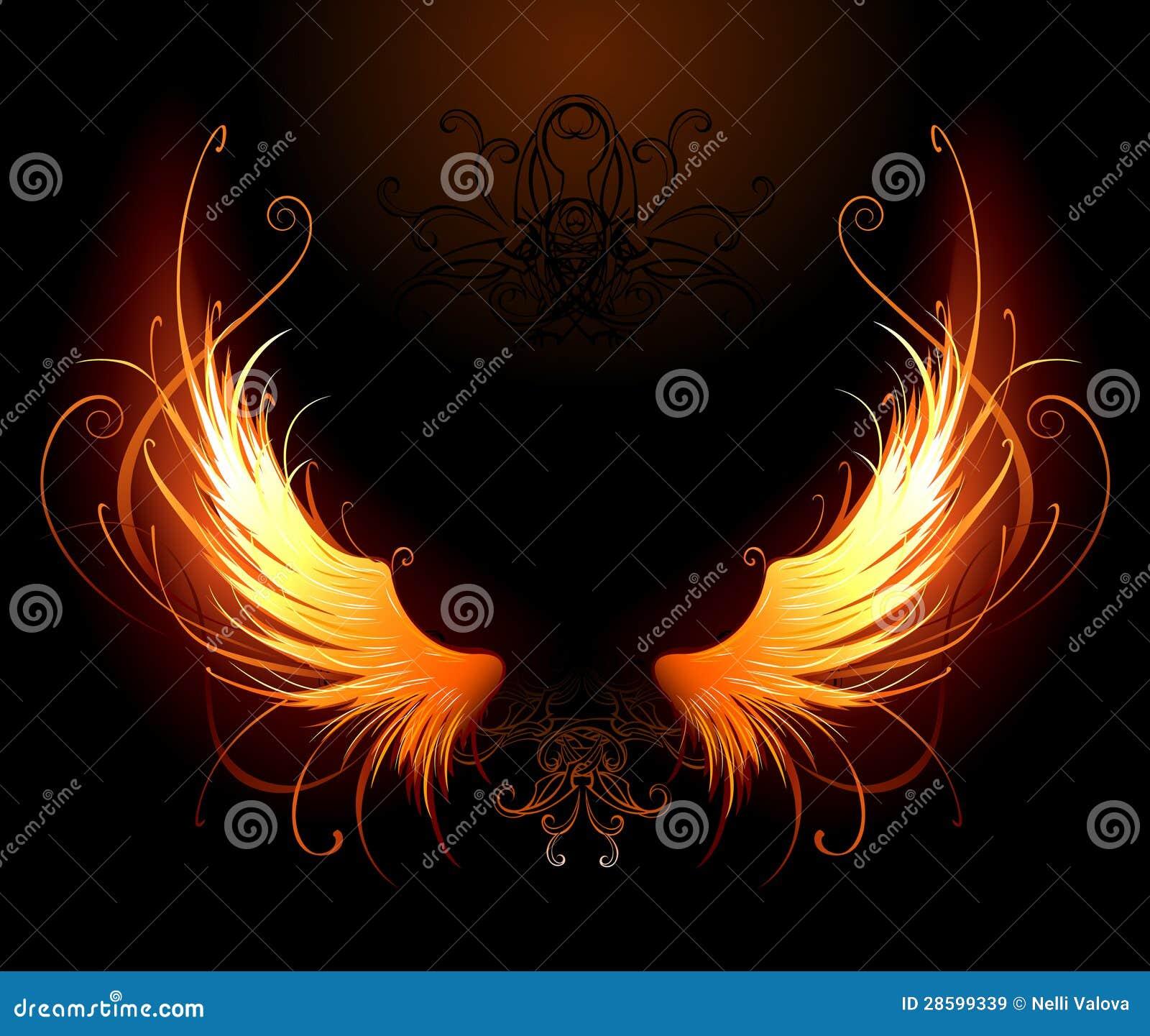 Fiery wings