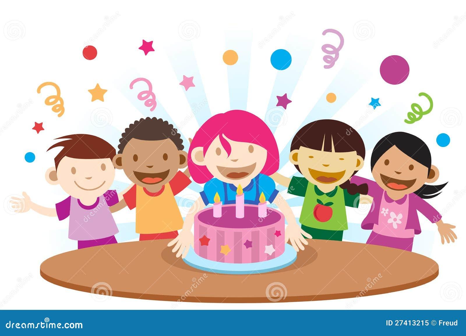 Fiesta de cumplea os imagen de archivo imagen de - Imagenes de fiestas de cumpleanos ...