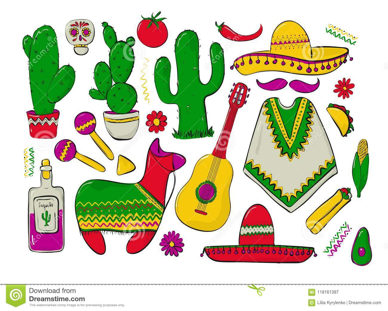 Super Fiesta And Latin American Festivals A Set Of Elements For Download Free Architecture Designs Fluibritishbridgeorg