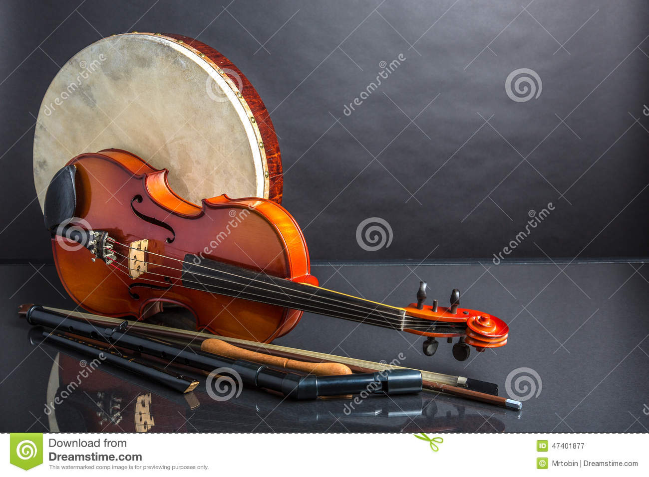 drum fiddle and flag stock image. image of black, tipper - 38174741