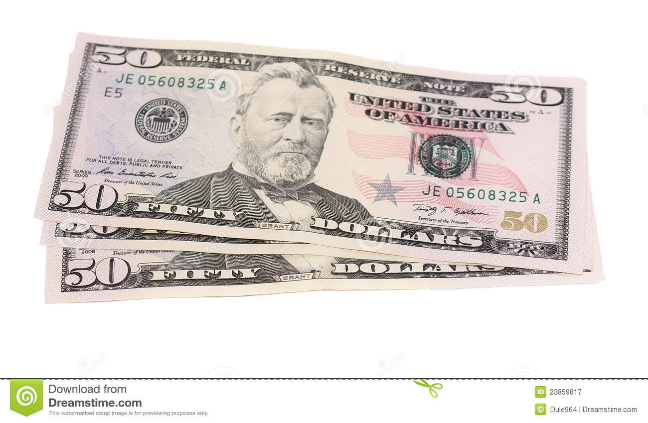50 Dollar Bill Royalty Free Vector Image – Wonderful Image