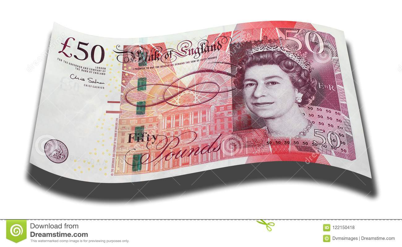 Fifty Pound Note Stock Illustrations 24 Fifty Pound Note Stock
