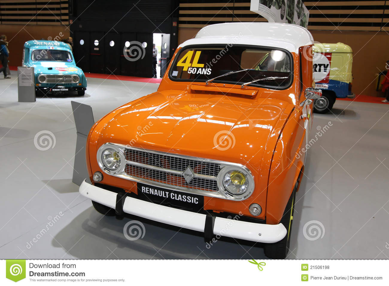 fifty years for the renault 4l editorial stock photo image 21506198. Black Bedroom Furniture Sets. Home Design Ideas