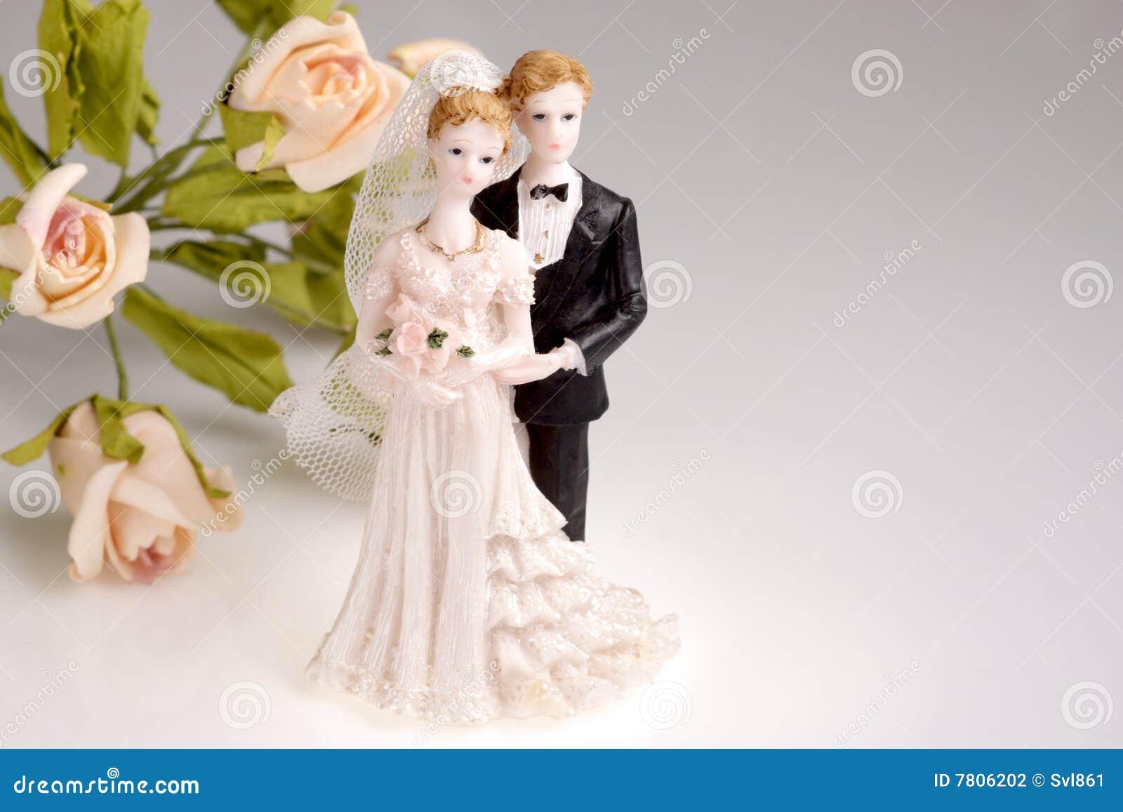 Figürchen der Hochzeitspaare