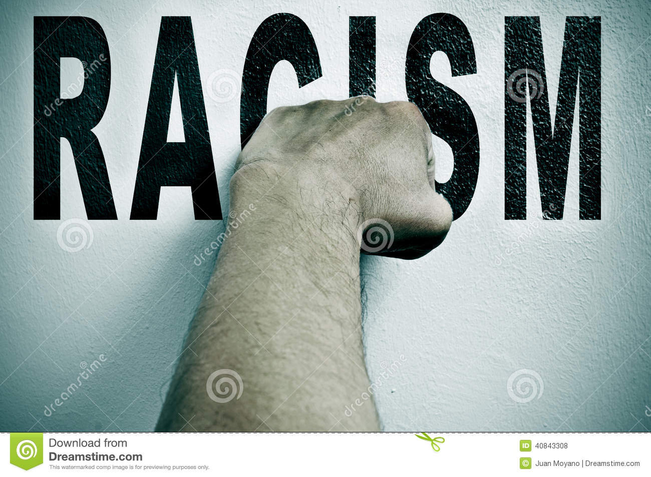 Symbol against racism stock image image of discrimination 14240857 fight against racism royalty free stock photos biocorpaavc Images