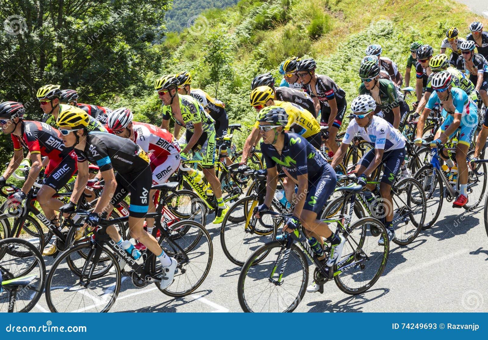 cd5d6d090 The Fight Inside The Peloton Tour De France 2015 Editorial Stock Photo  Image  74249693