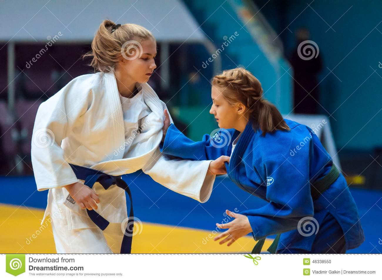 Fighter Girl In Judo Editorial Image Image Of Competitive -5610