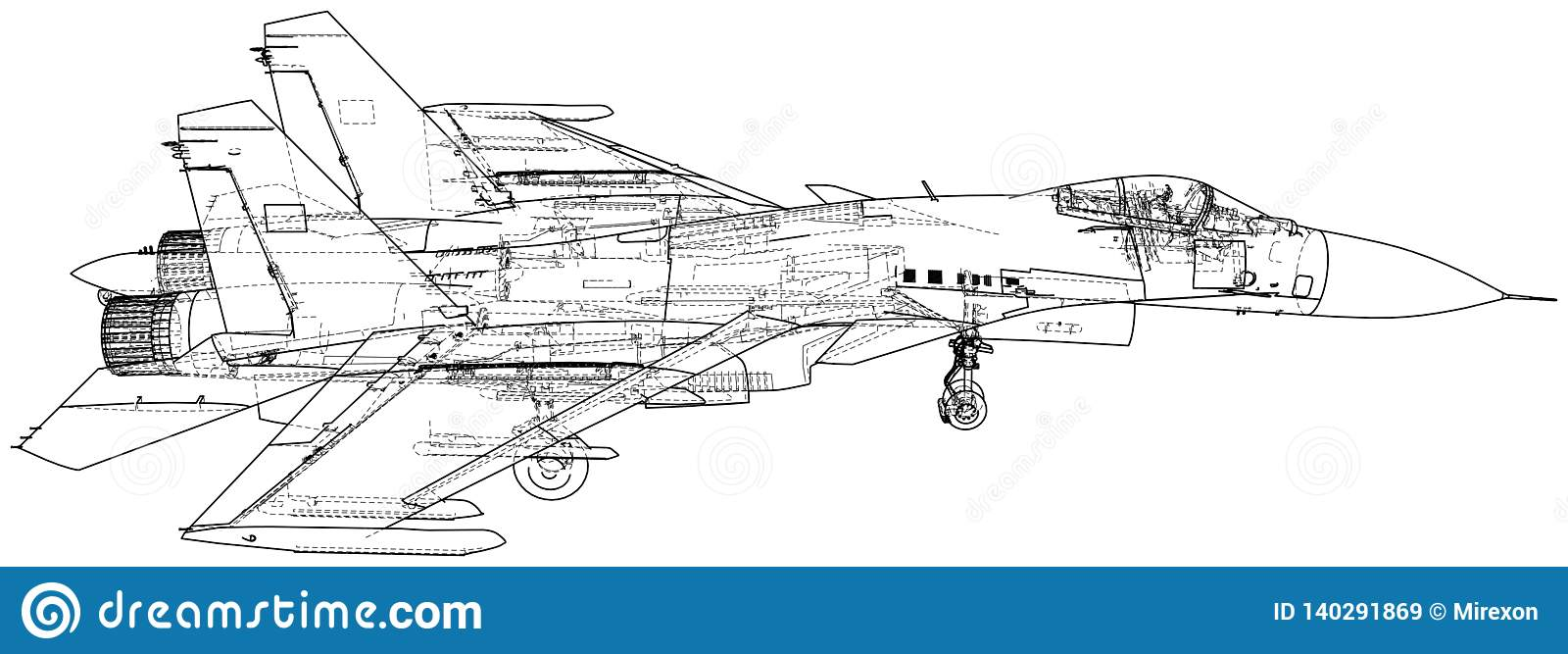 Super Fighter Jet Vector Wireframe Concept Created Illustration Of 3D Wiring 101 Photwellnesstrialsorg