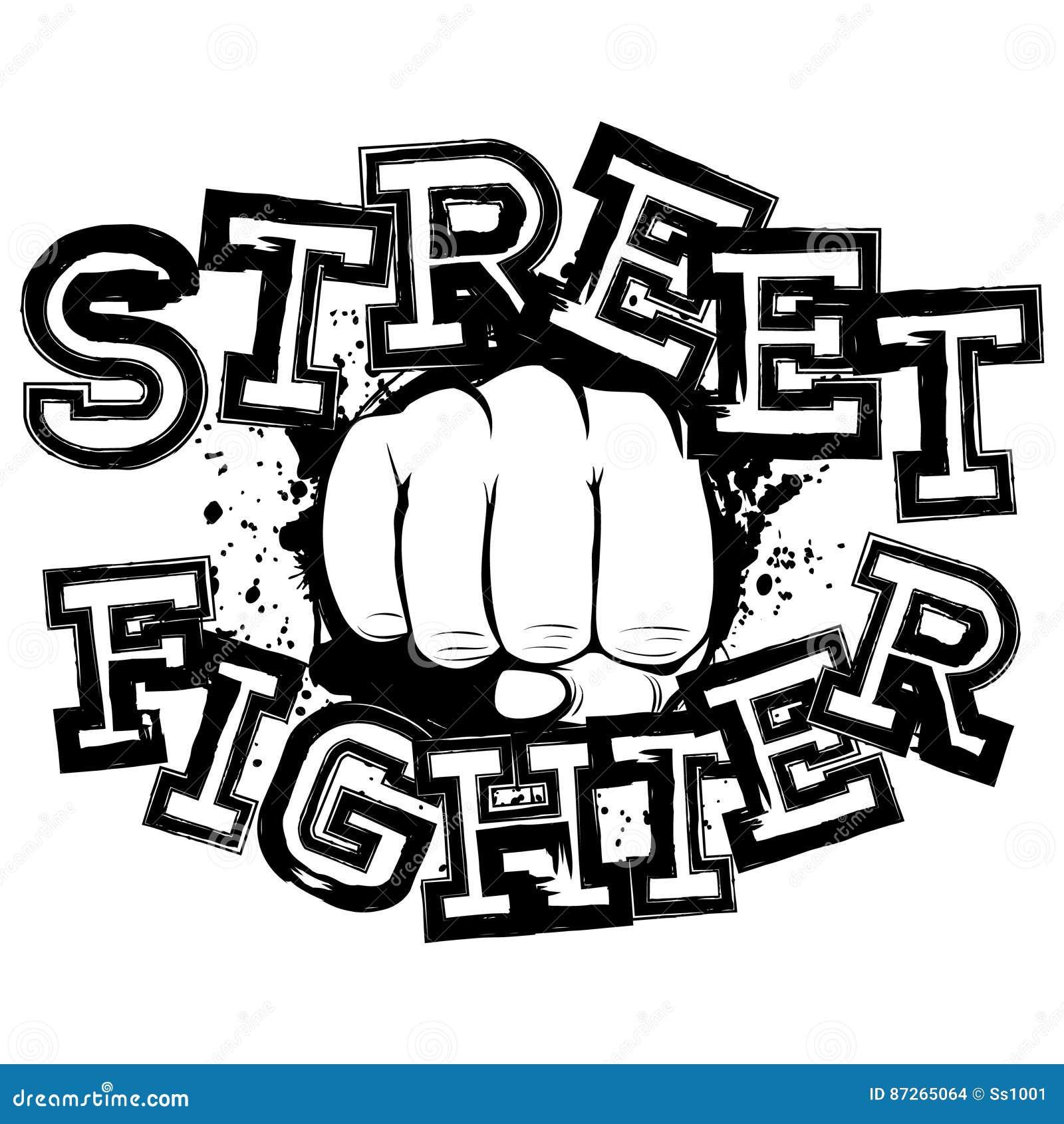 Fighter Stock Vector Illustration Of Karate Bandit 87265064
