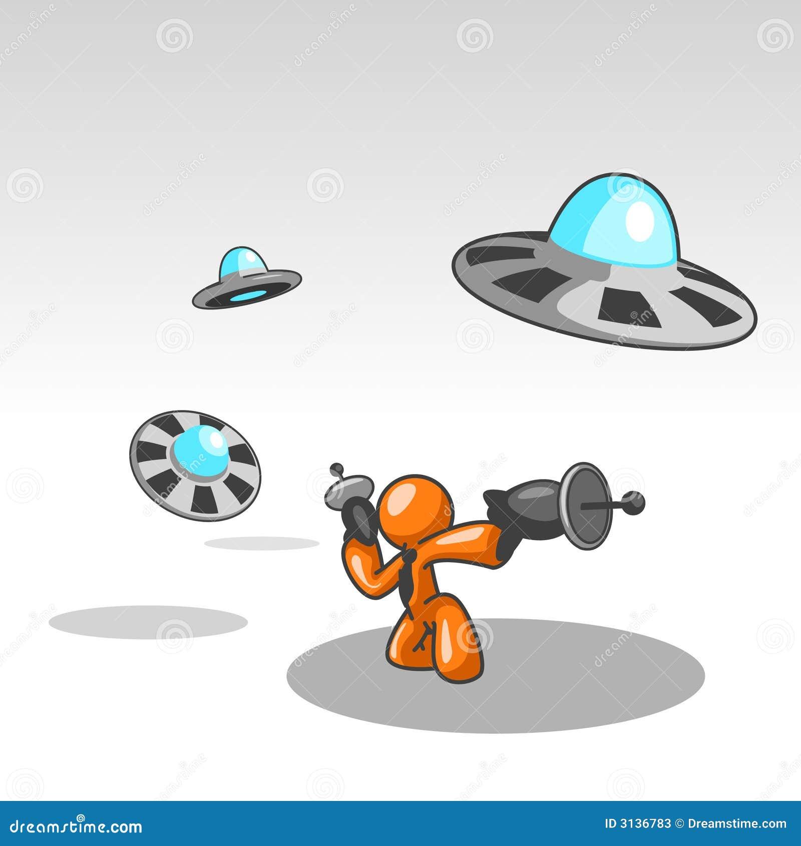 Fightinf UFOs