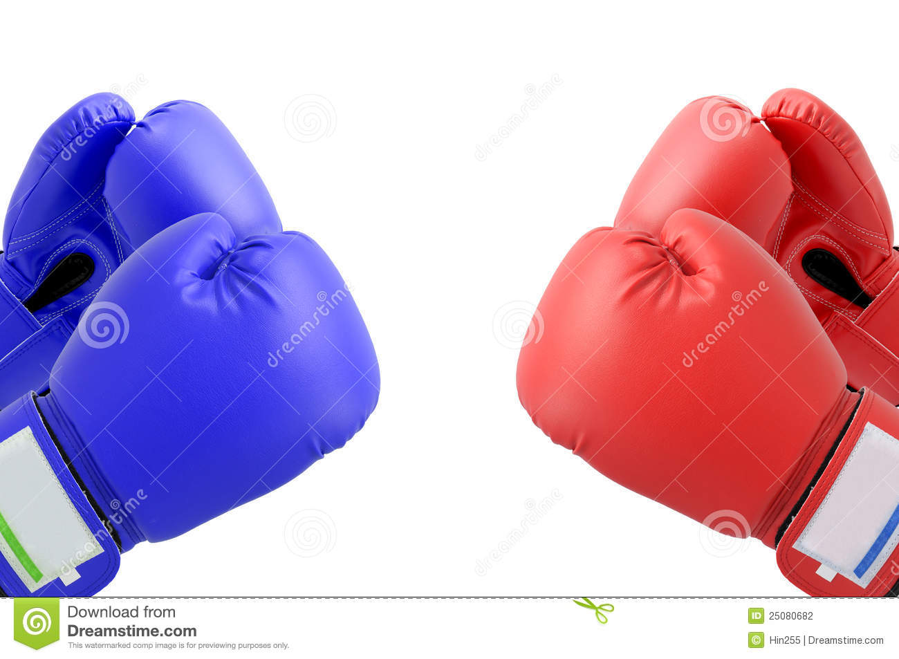 Fighting Boxing Gloves Stock Photography - Image: 25080682
